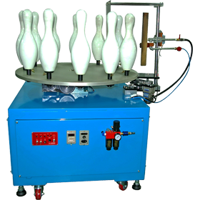 Small Index Table Flame Treatment Machine